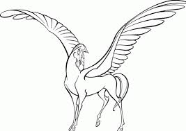 Small Picture Free pegasus coloring pages for kids ColoringStar