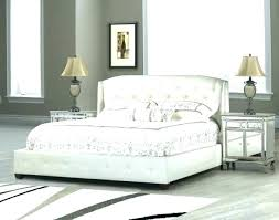 White Tufted King Bed King Tufted Bed Frame King Size Tufted Bed Set ...