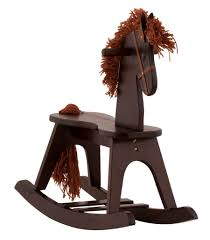 affordable wood rocking horses for
