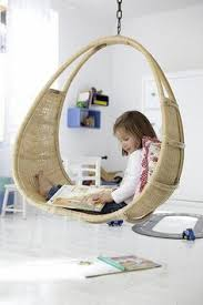 the boo and the boy: Hanging chairs/swings in kids' rooms
