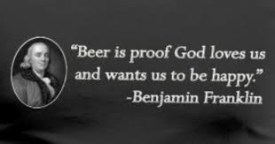 Ben Franklin Beer Quote Fascinating Ben Franklin Beer Quote By Jscholtes Spreadshirt