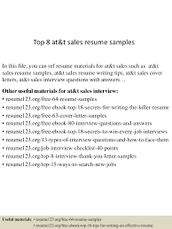 top at t s resume samples