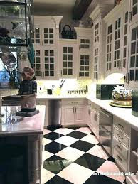 black and white kitchen tiles tile floor houses flooring picture ideas with cabinet