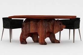 creative images furniture. Collect This Idea A Creative Furniture Design Concept: Bear Table Images