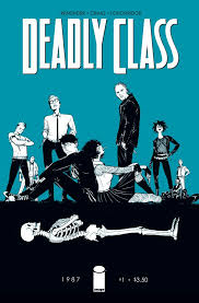 """Artist Alley: """"Deadly Class"""" #1 with Wesley Craig [Interview] –  Multiversity Comics"""