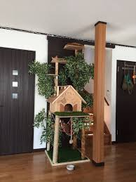 daidougei diy cat tree natural looking cat tree pets cats