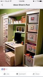 kids play room organization using my favorite toy storage from IKEA. Love  the crown molding that finishes it off. To get my husband to build  something like ...