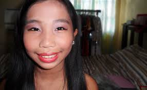 christine s 6th grade graduation makeup look