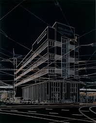 best architecture sketch images architecture  architectural renderings become fluorescent drawings the help of a magic marker