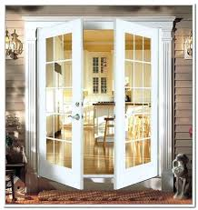 french doors outswing patio with sidelights