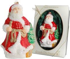 Krebs Glas Lauscha Christbaumschmuck Weihnachtsmann 1 Tlg Mundgeblasen Online Kaufen Otto