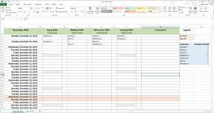 Creating A Work Schedule With Excel Step By Step Guide Ionos
