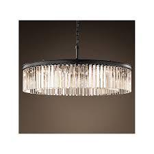 rectangular crystal prism chandelier designs