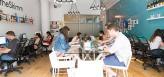 modern office ideas for theskimm the cb2 blog cb2 office