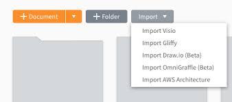 Import Files From Visio Gliffy Draw Io And Omnigraffle