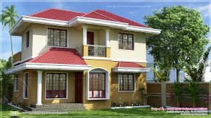 The House Designers Home Plans Villa With 3 Bed Appropriate In A 3 Cents Of Land Kerala