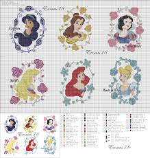 Free Disney Cross Stitch Charts Disney Princess Cross Stitch Portraits Disney Cross Stitch