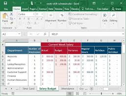 excel for scheduling tips templates for creating a work schedule in excel
