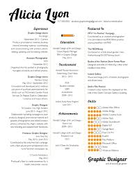 Resume Examples Templates Awesome Graphic Design Resume Template