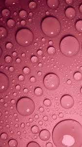 Water Drops Red Background 4K Ultra HD ...