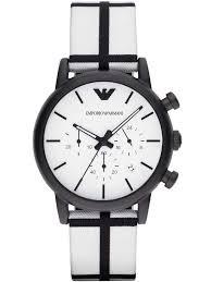 emporio armani mens chronograph watch ar1859
