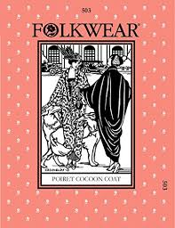 Folkwear Patterns Enchanting Amazon Folkwear Patterns Ladies Sewing Pattern Poiret Cocoon Coat