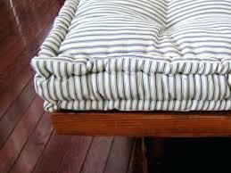 custom seat cushions custom bench cushion ticking stripe window seat cushion french mattress quilted cushion tufted
