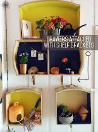How To Make Drawers How To Make Wall Shelves Out Of Old Dresser Drawers East Coast
