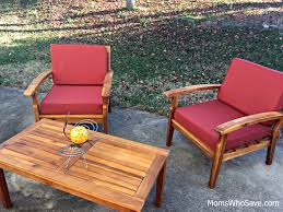Outdoor Furniture Wood Choice