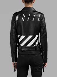 8 beyonce s nets game virgil abloh off white fall 2016 black leather biker jacket