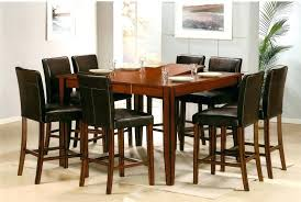 luxury bar style dining table and kitchen dinette sets round tables rectangle with pub 6 chairs pub style dining room table