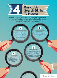 to search for a job basic job search skills to master how to search for a job 4 basic job search skills to master