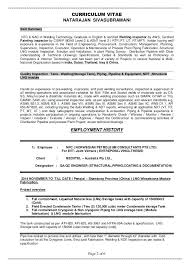 qc resume 2 qc supervisor resume examples