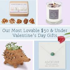 our most lovable 50 under valentine s day gifts