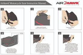 Airhawk Motorcycle Seat Cushion Fit Chart 77 Described Airhawk Motorcycle Seat Cushion