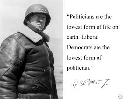 Patton Quotes Delectable General George S Patton WWII Politicians Are Autograph Quote 48 X
