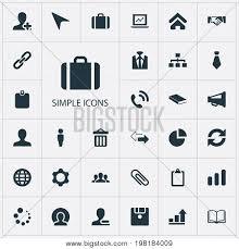 Pie Chart Synonym Elements Diagram Vector Photo Free Trial Bigstock