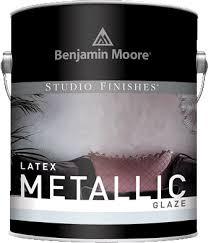 Benjamin Moore Metallic Glaze Color Chart Studio Finishes Latex Metallic Glaze 620 Decorative