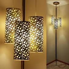 floor to ceiling pole lamp vintage floor to ceiling tension pole lamp