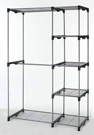 wonderful removable closet organizer com storage rack portable clothes hanger home garment shelf rod by