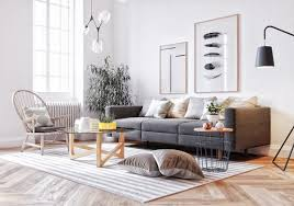 Living Room With White Walls Six Scandinavian Interiors That Make The Lived In Look Inspirational