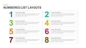 For Powerpoint Numbered List Layout Template For Powerpoint And Keynote