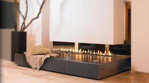 gas fireplace bioethanol contemporary open hearth