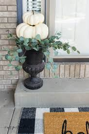 looking for some easy diy fall pumpkin decor it only takes a few minutes to