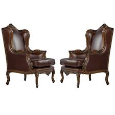 Leather Wingback Chair For Sale Contemporary Wingback Chair Tjihome