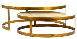 gold nesting tables global ivory stone gold nest round coffee tables gold nesting tables uk