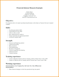Financial Advisor Assistant Sample Resume Extraordinary Financial Advisor Resume Samples Financial Planner Resume Sample