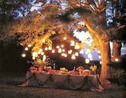 garden party decorations ideas for in the night garden party at