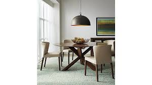 bright design crate barrel dining tables free orion round table 60 seats 6 for in