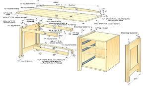 free computer desk woodworking plans wood corner full size